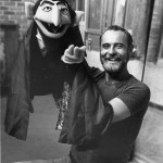 Jerry Nelson with his most well-known character, The Count. Photo courtesy of Marty Nelson.