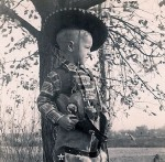 Jerry Nelson as a kid in Oklahoma, late 1930s. Photo courtesy of Marty Nelson.