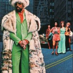 Orman as Willie Dynamite, promotional poster, 1974.